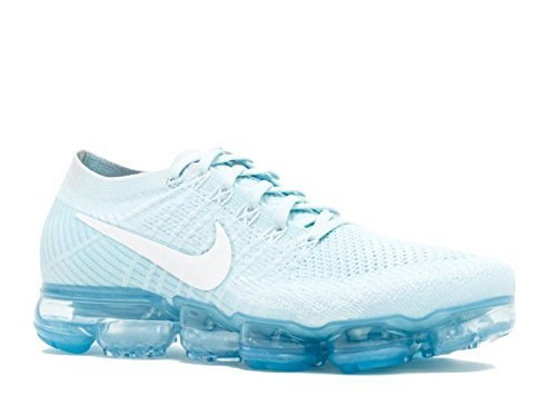 nike air vapormax flyknit blue and white