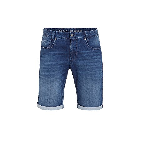 "Mac Herren Bermudas ""Jog´n"" stoned blue (81) 30"