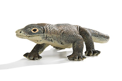 Safari Ltd. Wildlife - Komodo Dragon - Quality Construction from Phthalate, Lead and BPA Free Materials - For Ages 3 and (Komodo Monitors)