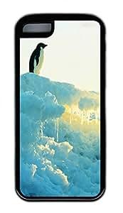 Distinct Waterproof Brave The Penguin Design Your Own iPhone 5c Case