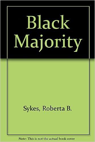 Kindle Ebooks Bestseller kostenloser Download Black Majority PDF by Roberta B. Sykes 094987325X