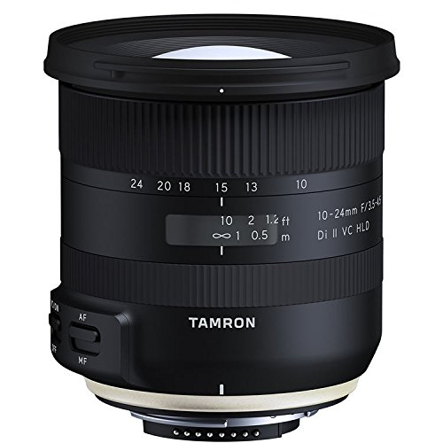 Tamron 10-24mm F/3.5-4.5 Di-II VC HLD Wide Angle Zoom Lens for Nikon APS-C Digital SLR Cameras