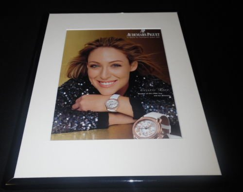 cristie-kerr-2008-audemars-piguet-framed-11x14-original-advertisement