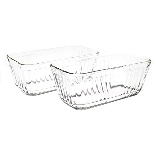 Anchor Hocking 5 Cup Glass Baking Dish, Set of 2