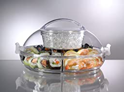 Prodyne Iced Up Appetizers to Go Carry and Serve Tray