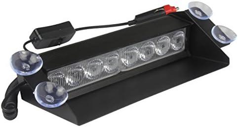 Lampe d/'avertissement d/'urgence 8 LED pour pare-brise de voiture Hehemm