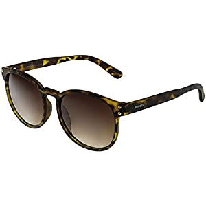 Perverse Women's Gradient Is This Vegan ISTHISVEGAN-01-VEGAN Matte Brown Rectangle Sunglasses