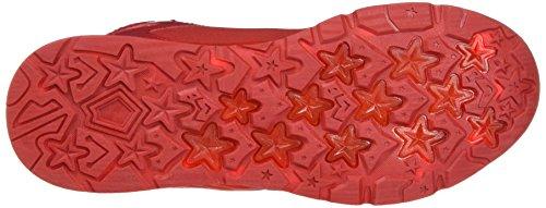 KangaROOS Unisex-Erwachsene K-Lev VI Hi Hohe Sneaker Rot (K Red/White)