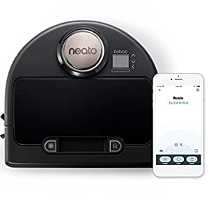 Neato Botvac Connected Wi-Fi Enabled Robot Vacuum, Works with Amazon Alexa