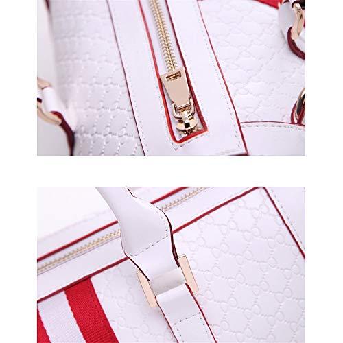Gelaiken Laptops Bags Fashion Handbag, Ladies Leisure Single Shoulder Oblique Span Package, Size 31.5cmx18cmx23cm Padded Computer Bag Large Briefcase for Work by Gelaiken (Image #4)