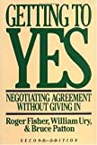 img - for Getting to Yes 2nd (second) edition book / textbook / text book