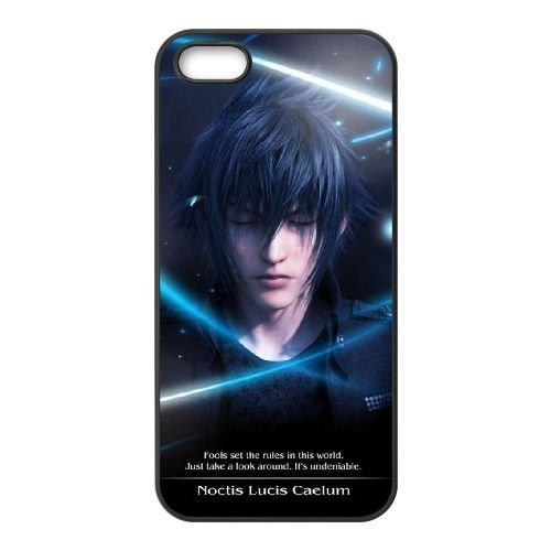 Final Fantasy 016 coque iPhone 5 5S Housse téléphone Noir de couverture de cas coque EOKXLLNCD10977