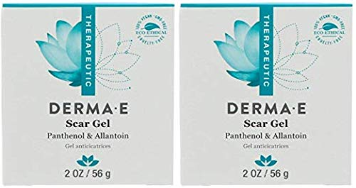 Derma E Scar Gel (Pack Of 2) With Provitamin B5, Onion Bulb Extract and Hydroxyethylcellulose, 2 oz. each