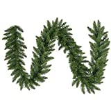 Vickerman 9ft x 14in Unlit Camden Fir Garland Christmas Decoration (Small Image)