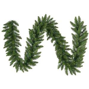 Vickerman 9ft x 14in Unlit Camden Fir Garland Christmas Decoration (Large Image)