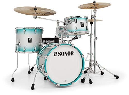 Sonor AQ2 Safari 4-piece Shell Pack w/Snare - Aqua Silver -