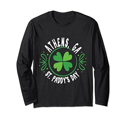 Unisex Kiss Me Athens GA St Patricks Day T-Shirt Pattys Paddys Large (T-shirts Athens Ga)