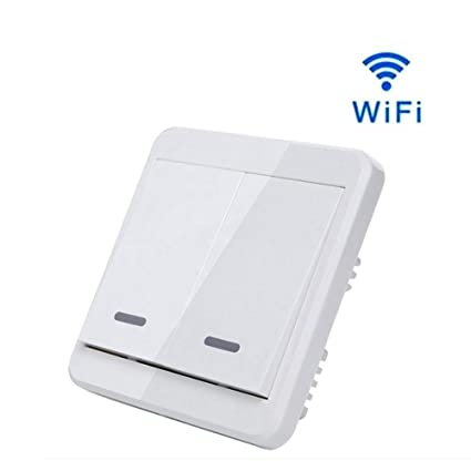 VISTANIA El Interruptor Ligero Elegante De WiFi 110~240V Trabaja con La Ayuda del Control