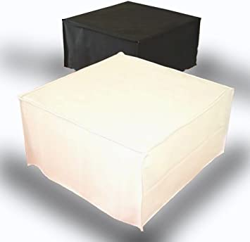 Ponti Divani Puff Cama Plegable, Cama otomana, colchón con Espuma de Memoria Incluido! Tapicería de Piel sintética .Producto Made IN Italy!