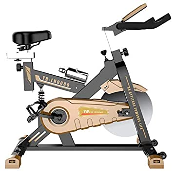 Lcyy-Bike Bicicleta Entrenadores Manual Resistencia Ajustable 11 Kg Volante Cardio Workout con Pantalla Multifuncional