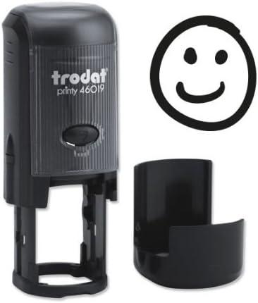 Trodat 4619 ANTR Smiley-Stempel Lachend Lehrerstempel