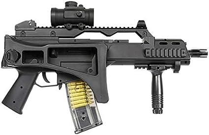Double Eagle Airsoft M85 ABS/Color Black/Electric (0.5 Joule) - Semi/Full Automatic -entregado con Accesorios