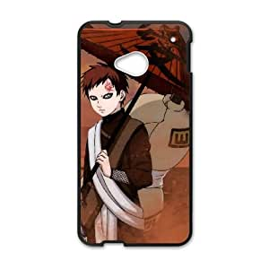 HTC One M7 Cell Phone Case Black Naruto Shippuden Gaaras Xbrot