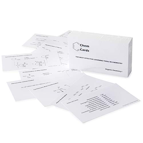 ChemCards: Study Flash Cards for Organic Chemistry - First Semester Topics