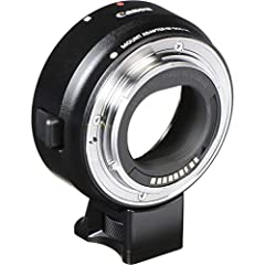 Expand your EOS M system and explore your creativity! The Canon mount Adapter fees m gives you complete access to the full spectrum of Canon EF and EF-S lenses so you can use your existing lenses and try out new ones to get the shots you want...
