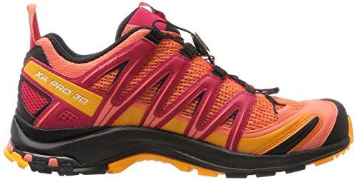 Salomon Womens Xa Pro 3d W Trail Chaussure De Course Vivant Corail / Noir Virtuel