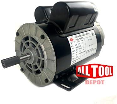 "3 HP 3450 RPM 56 Frame 230V 15Amp 5//8/"" Shaft Single Phase NEMA Motor"