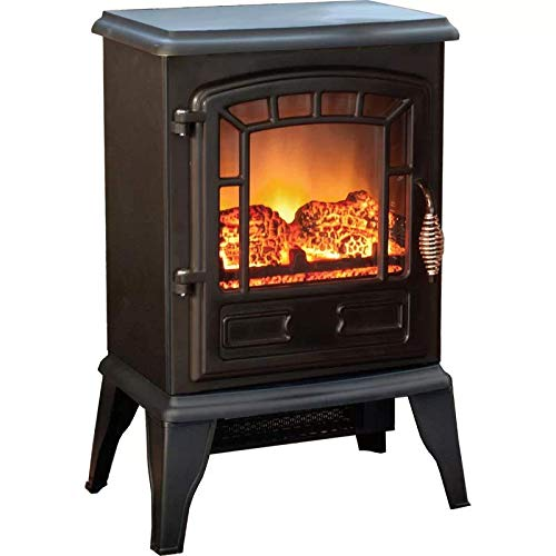 Grand Aspirations Kent 15 Electric Stove Fireplace EFSXB-15ABLK