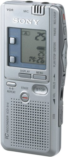 Sony ICD-B16 Portable Digital Voice Recorder