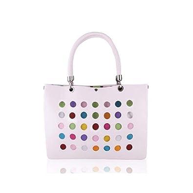 SEYE1° Women s Handbag, Resina Hollow Colorful Doble Bolsa ...