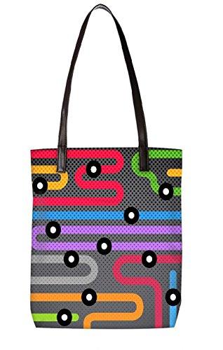 Snoogg Strandtasche, mehrfarbig (mehrfarbig) - LTR-BL-146-ToteBag