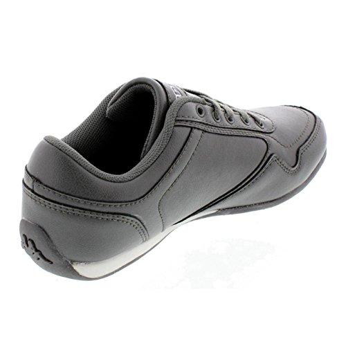 Zapatillas deporte de Niño y Niña KAPPA 30267B0 STYKO 987 DK GREY-WHITE