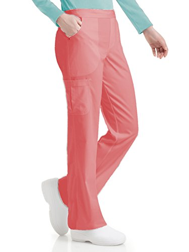 Urbane Ultimate 9300 Women's Bailey Cargo Pant Creamsicle - Clothing Brand Bailey