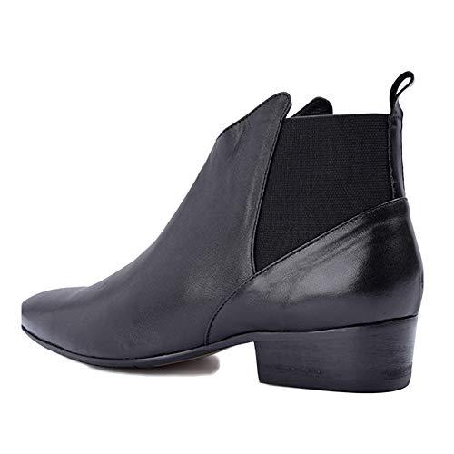 Top Pelle Martin Boots Business Pelle Brogue Uomo Desert in Morbida Black Chelsea Oxblood Stivali Classic Stivaletti xzPgqawgT1