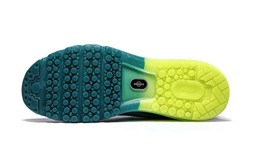 léger ressort rembourrage de coussin en chaussures chaussures sport course Couple femmes chaussures été hommes respirant Bleu de et et espadrilles de OZWWfS4