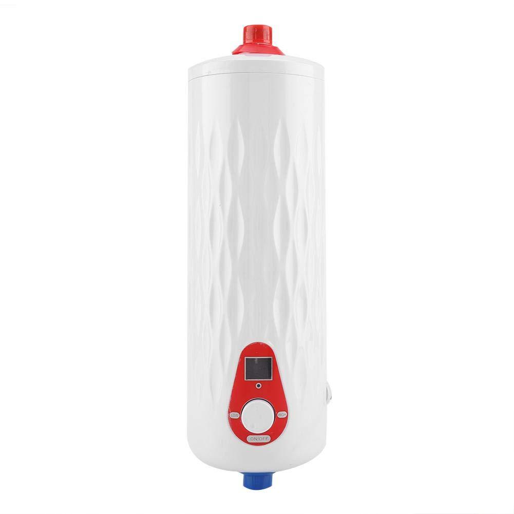 Wei/ß Sorand 6500W Elektro-Durchlauferhitzer Durchlauferhitzer ohne Durchlauferhitzer schnelles Aufheizen und automatisch ohne Wasser abschalten Mini-Warmwasserbereiter