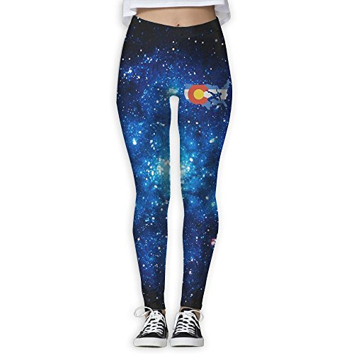 Vcfeee7 Female Full Length Yoga Pants Colorado USA Wrestling Leggings by Unknown