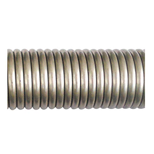Jienie 1pcs wire diameter 1.2mm stainless steel stretched with hook spring outer diameter 8mm~15mm length 300mm - (Length: 1.2mmx9mmx300mm)