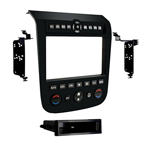 Metra 99-7612B Single or Double DIN Installation Dash Kit for 2003-2007 Nissan Murano - Mount Trim Dash Kit