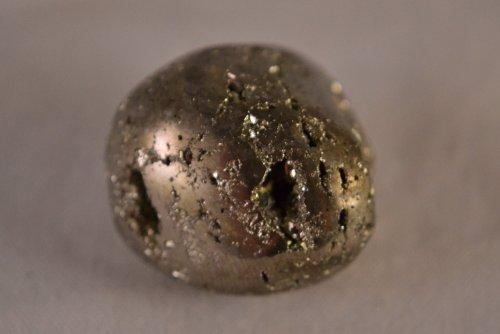 Pyrite: Tumbled Pyrite - Healing Stone, Metaphysical Healing - Chakra Stone (Fools Gold Base)