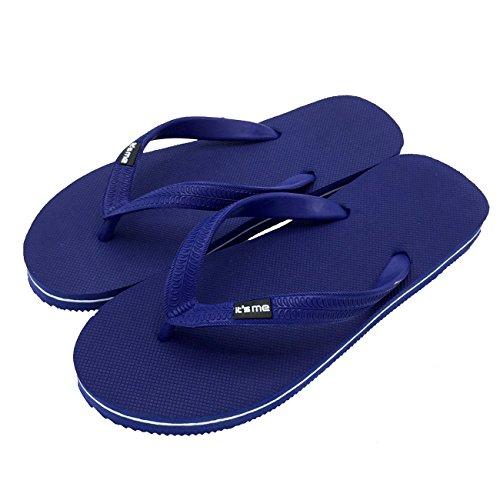 Flip Flops, Größe 33.5-35, Farbe Gelb/Blau
