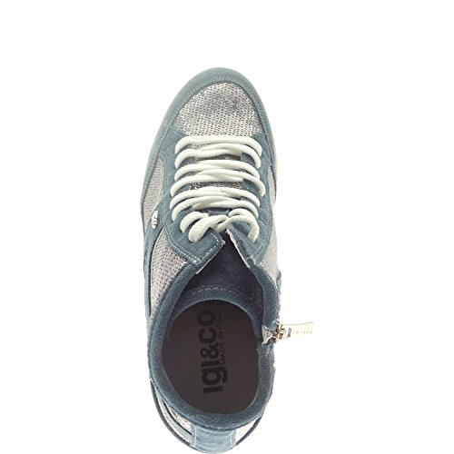 IGI&Co , Damen Sneaker Jeans/grigio
