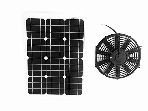 Amtrak Solar 35 Watt Solar Attic Fan, 25 years warranty, Most powerful fan motor.