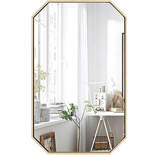 ZZKJBox Bathroom Mirror, Wall Mirror, Art Deco Mirror, Vanity Mirror, Geometric Rectangular, -