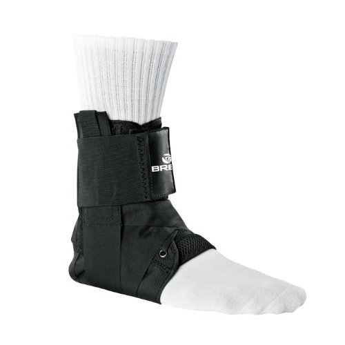 Breg LaceUp Ankle Brace w/Stays (Small)