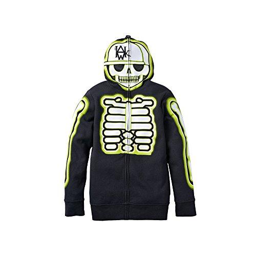 [Tony Hawk Long Sleeve Costume Hoodie - Boys 8-20 (X-Large)] (Boys Skeleton Sweatshirt Hoodie Costumes)